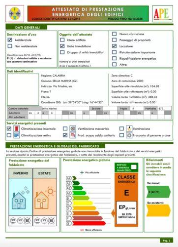 Immagine certificazione energetica