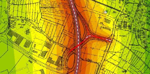immagine mappa acustica impatto